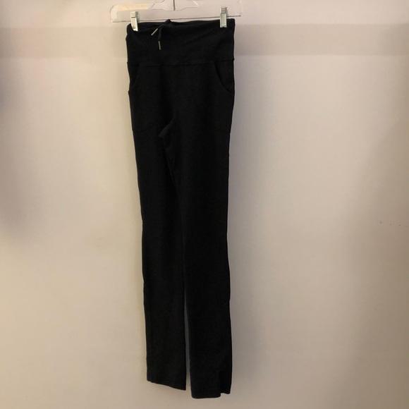 lululemon athletica Pants - Lululemon black slim pant, sz 4, 70855